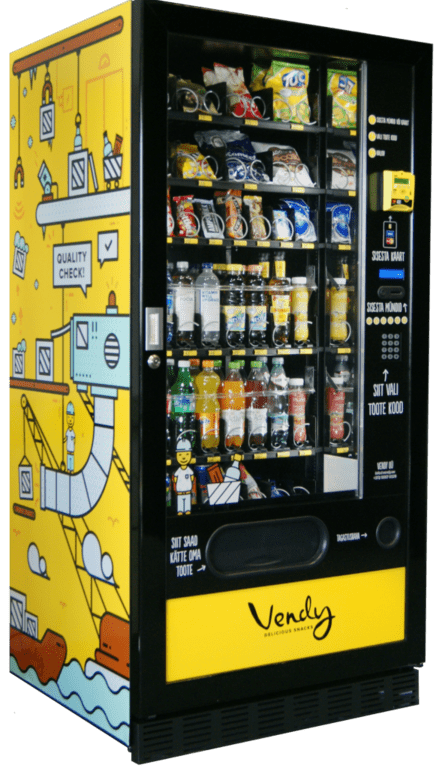 Lahendused - Vendy Kioskiautomaat